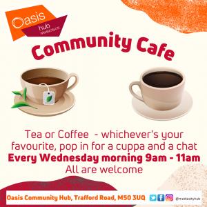Community cafe details